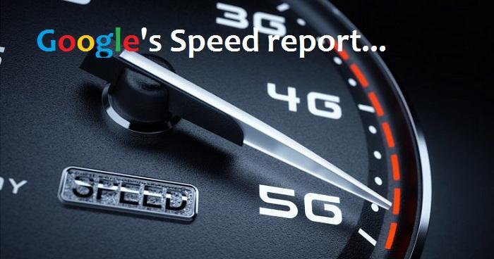 Google's Speed report
