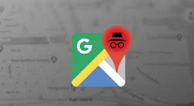 Incognito Mode of Google maps