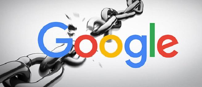 Google No follow links