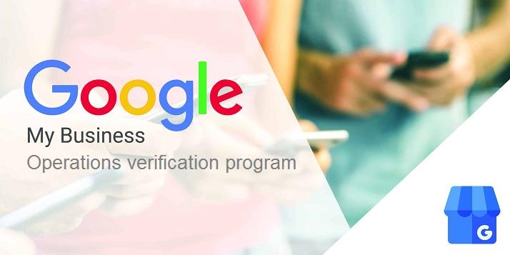 Google Ads Business Operationas Verification Program