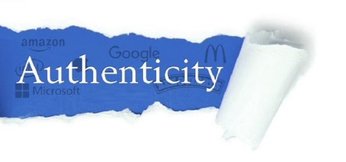 brand's authenticity