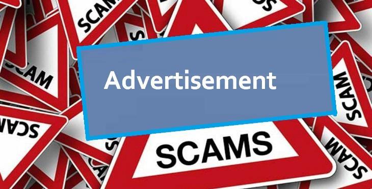 Advertising Scam
