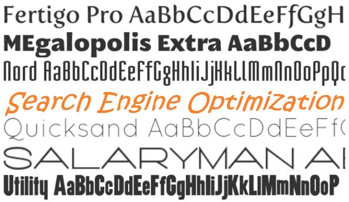 Font Choice Matter For SEO
