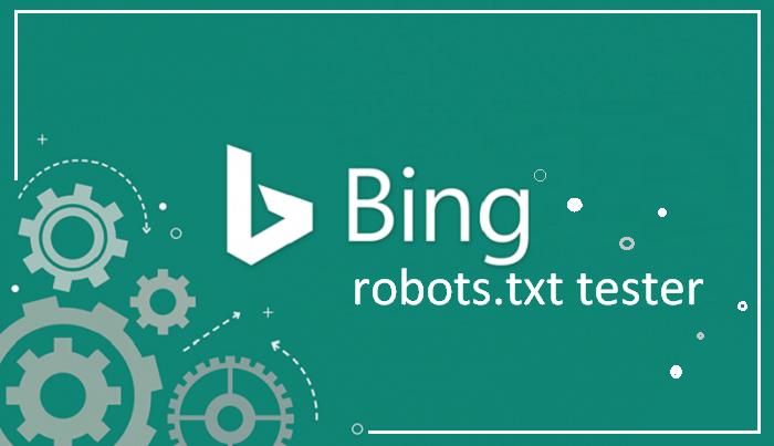 Bing robots.txt tester