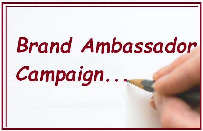 Brand Ambassador Campaign