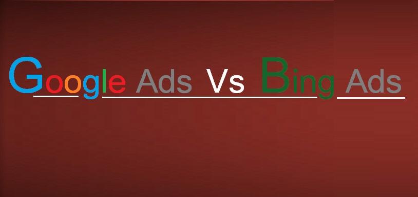 Google ads vs. Bing ads