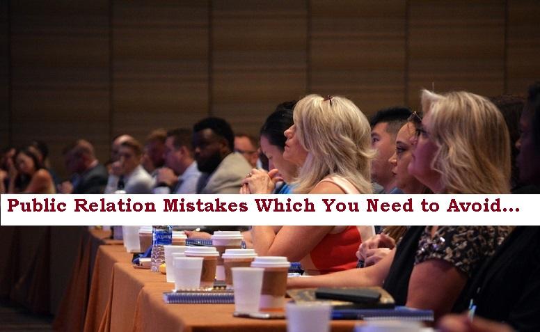 Public Relation Mistakes