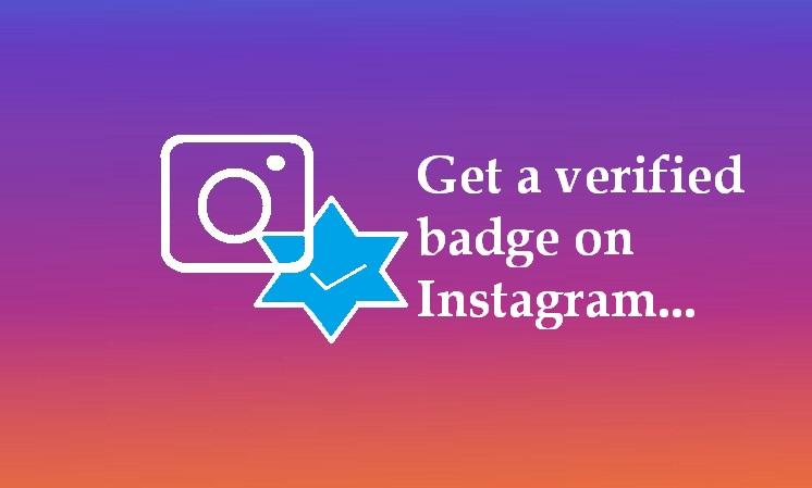 verified badge on Instagram