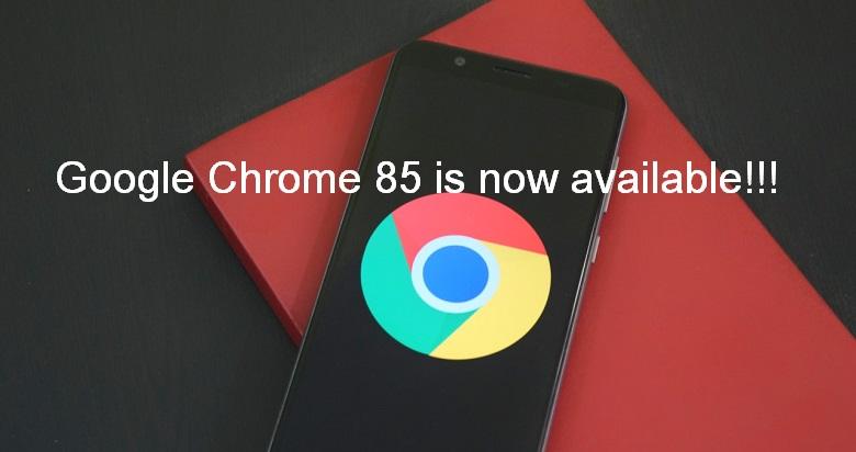 Google Chrome 85
