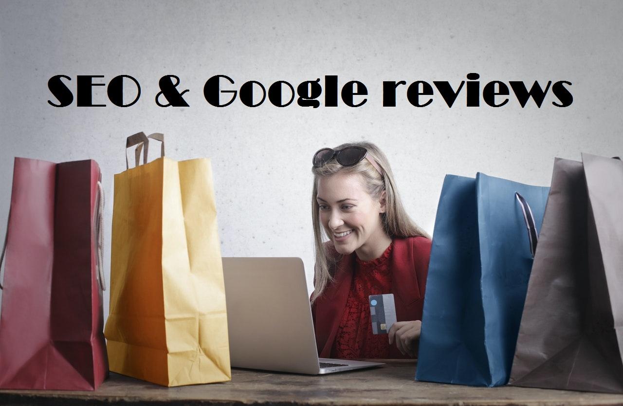 Google reviews help in SEO
