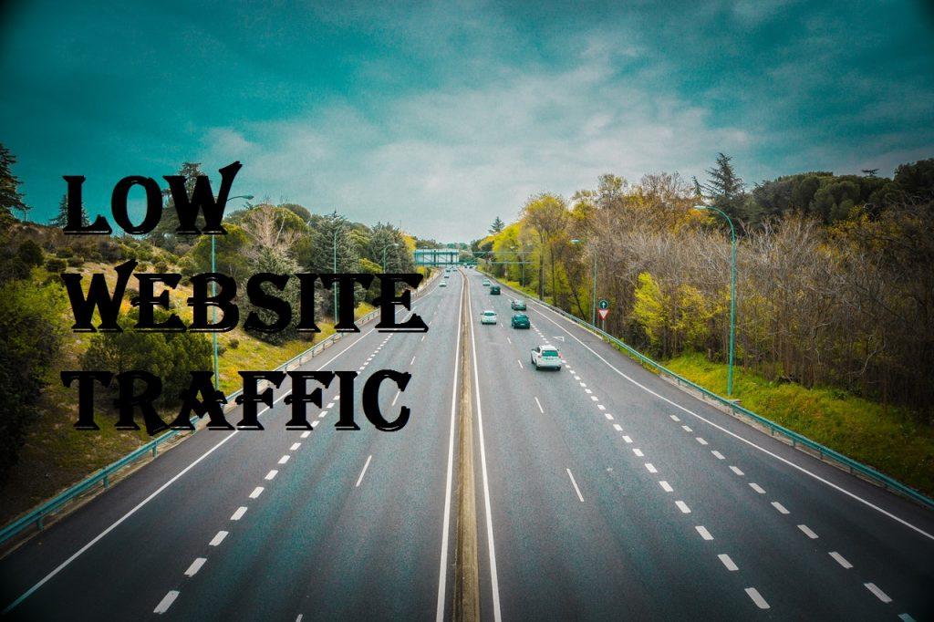 low website traffic