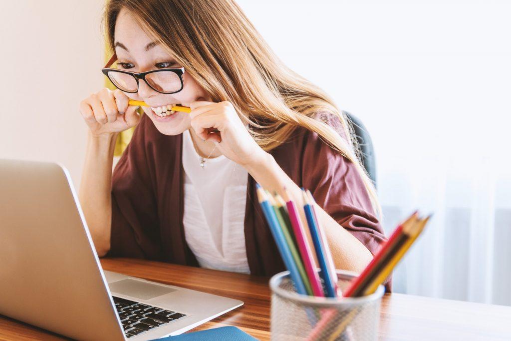 blogging stress